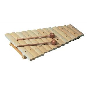 Xylofón, 13 kláves, javor