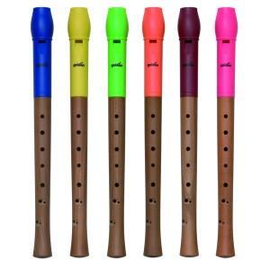 Flauta, barokový prstoklad, v taštičke