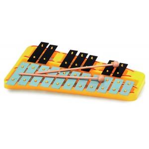 Metalofón chromatický, 18 tónov
